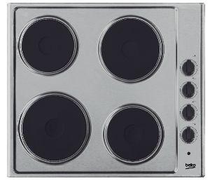 Koken Kookplaat Beko elektrisch HIZE64100X