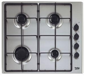Koken Kookplaat Beko gas HIZG64120SX