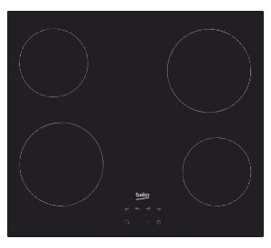 Koken Kookplaat Beko  vitrokeramisch HIC64400E