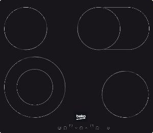 Koken Kookplaat Beko vitrokeramisch HIC64403